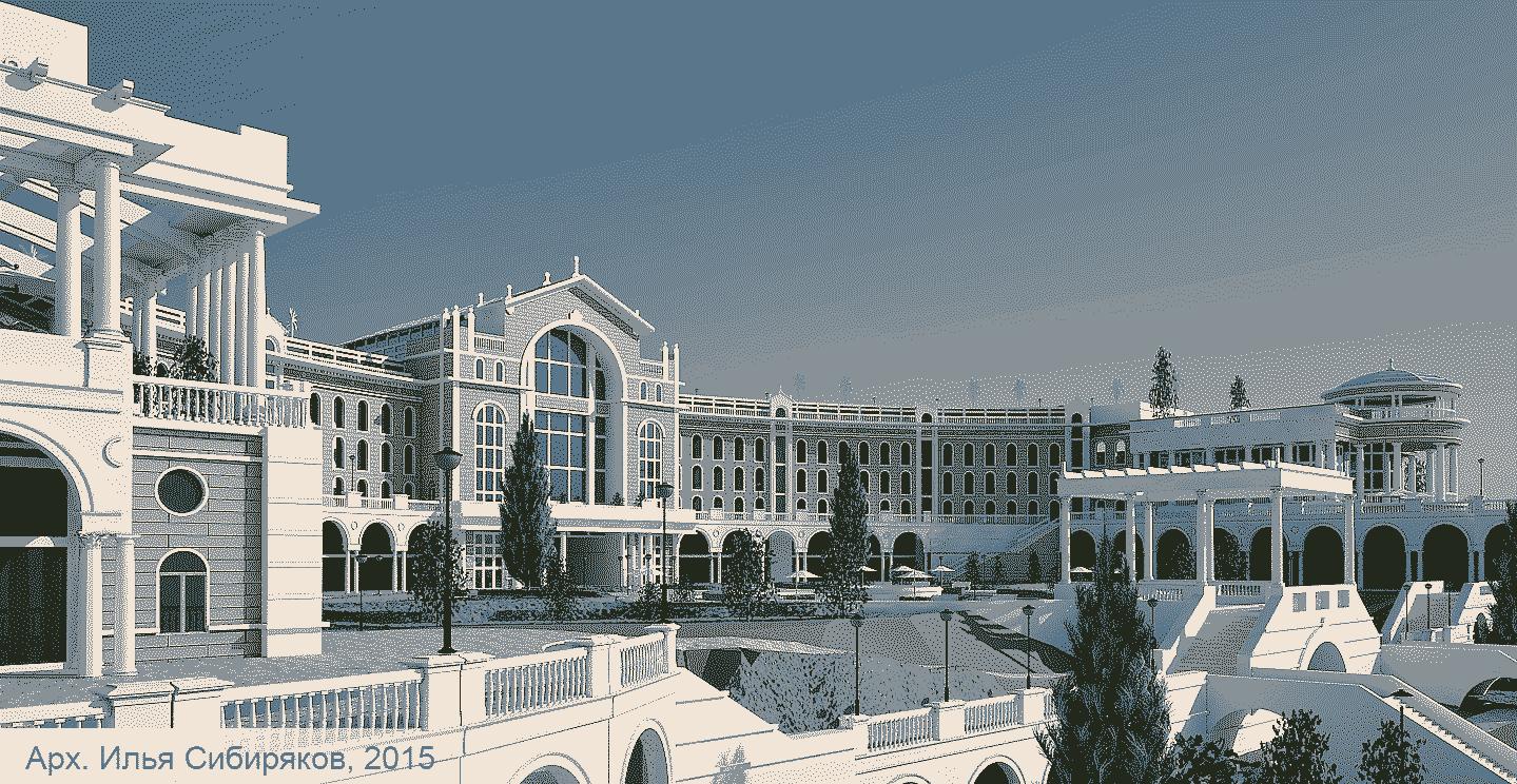 Страница из Архитектор Илья Сибиряков проектирование  Проект гостиницы у моря