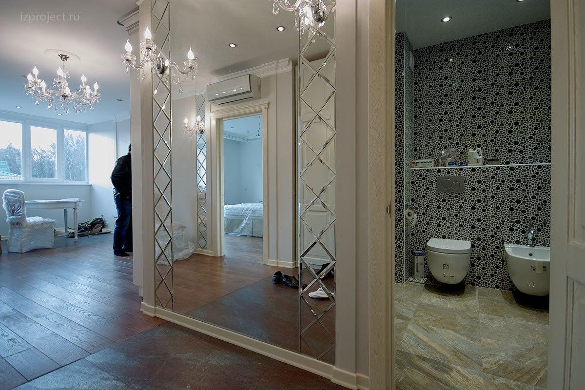 Дизайн однокомнатной квартиры, фото прихожей.
