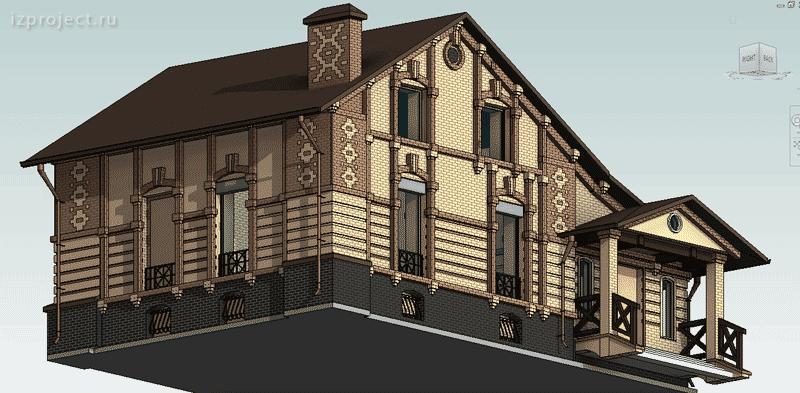 Проект реконструкции фасадов кирпичного здания