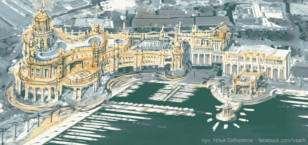 Концепция реконструкции морского порта