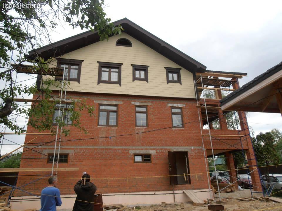 архитектурный проект частного дома фото