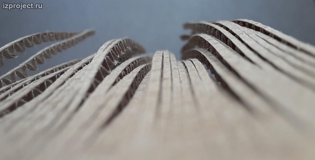 Creative parametric cardboard. Ilya Sibiryakov