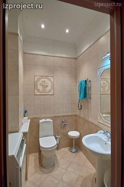 Фото ванной комнаты в классическом стиле.