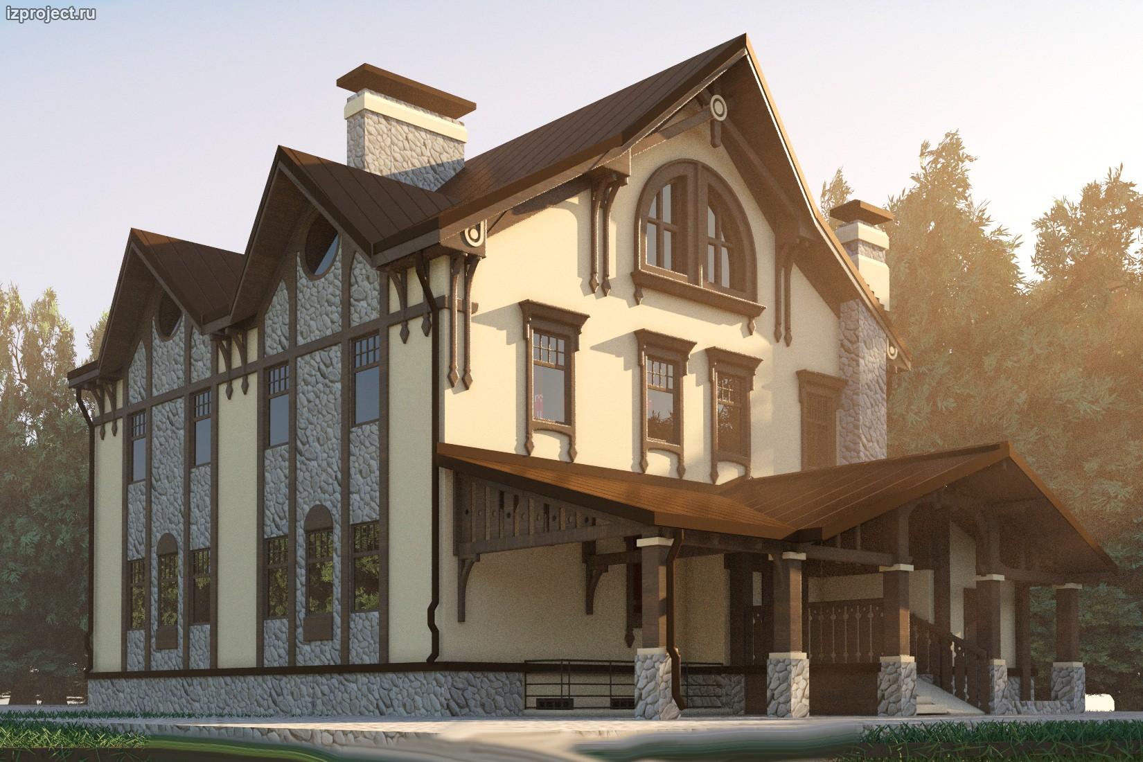 Фото проекты домов из сэндвич-панелей по канадской