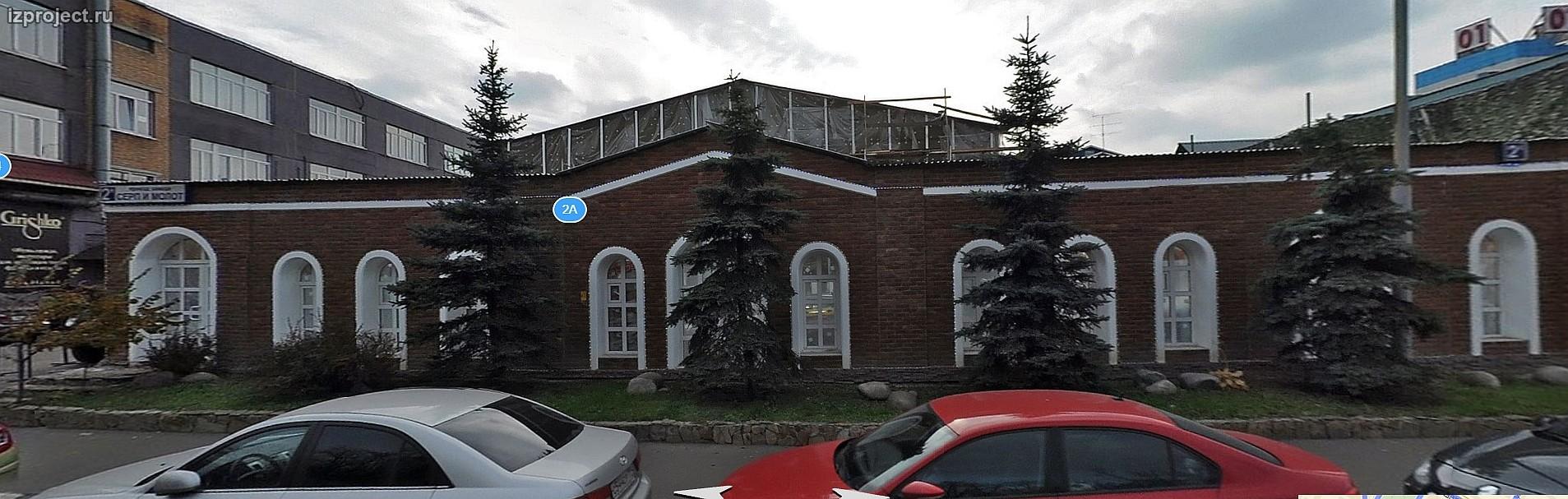 Проект реконструкции здания в Москве