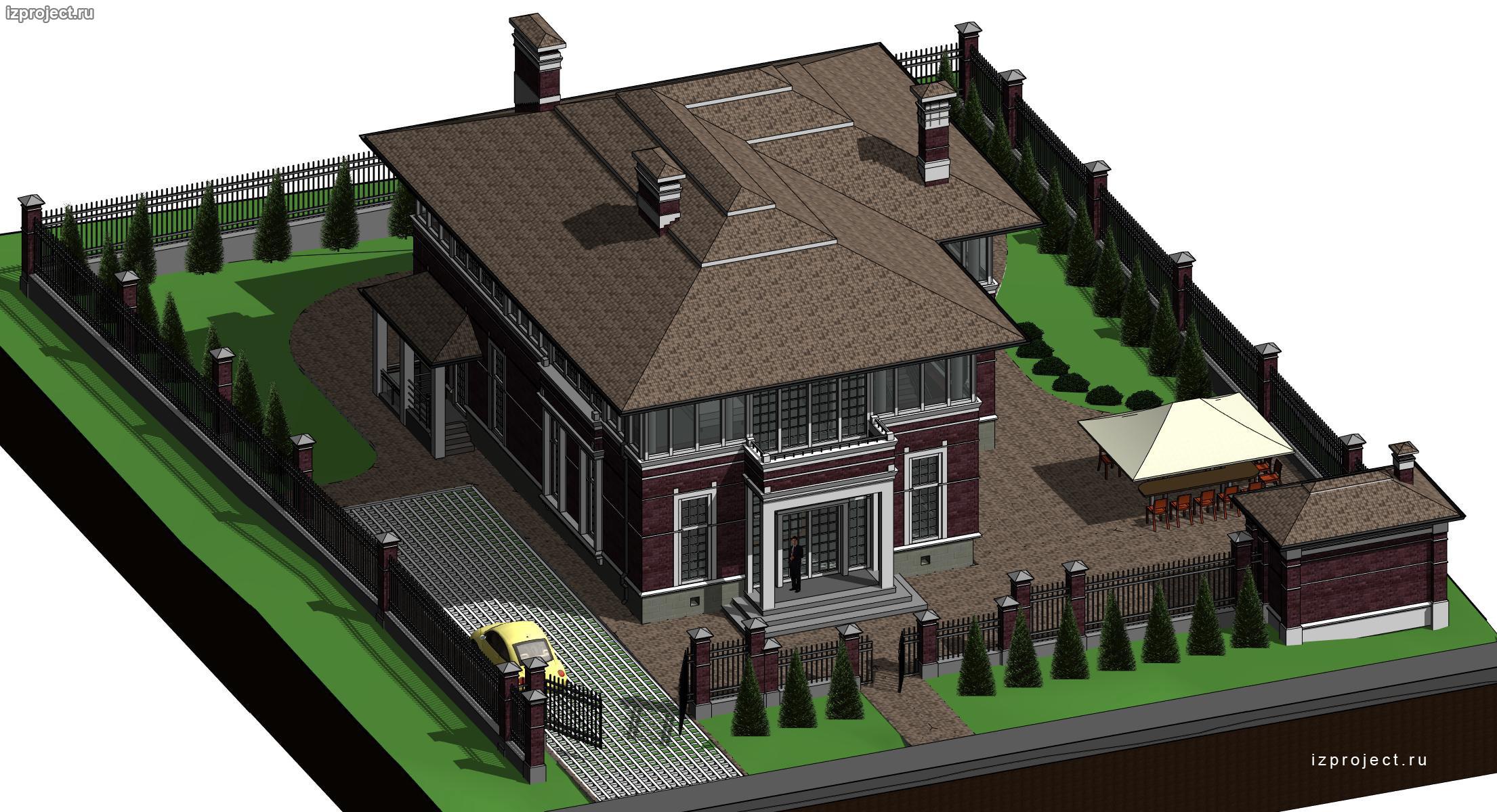 частный архитектор загородных домов